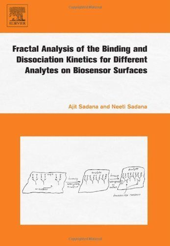 Fractal Analysis of the Binding and Dissociation Kinetics for Different Analytes on Biosensor Surfaces by Ajit Sadana. $144.23. 372 pages. Publisher: Elsevier Science; 1 edition (January 3, 2008). Author: Ajit Sadana