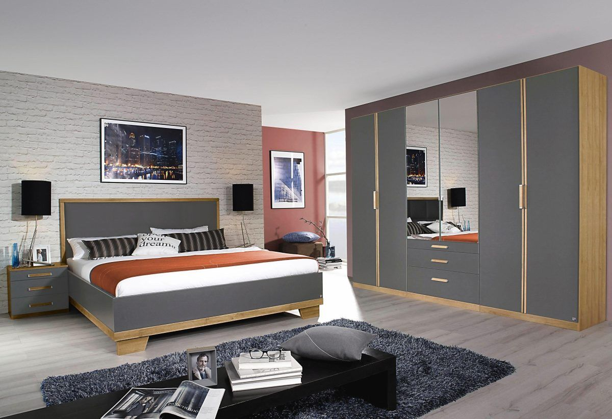Rauch rauch PACK`S Schlafzimmer-Sparset (4-tlg.), grau ...