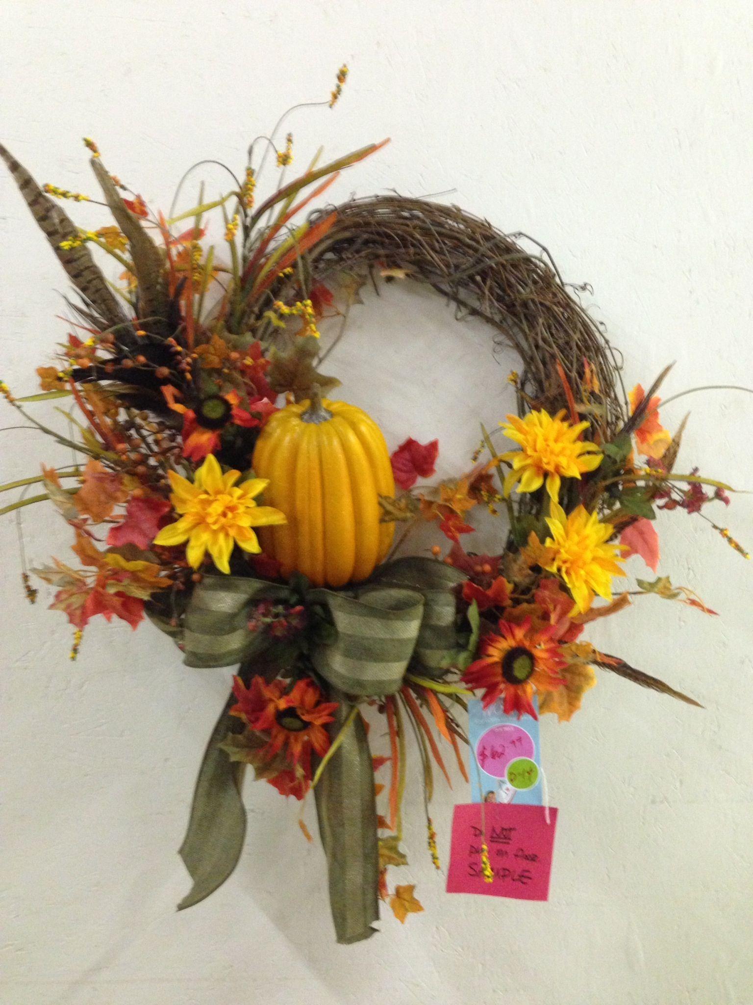 Fall wreath- bottom design 2014