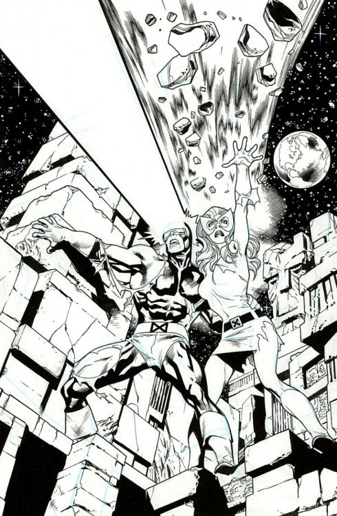 Uncanny X Men 137 Tumblr Xmen Art Stuart Immonen Drawing Superheroes