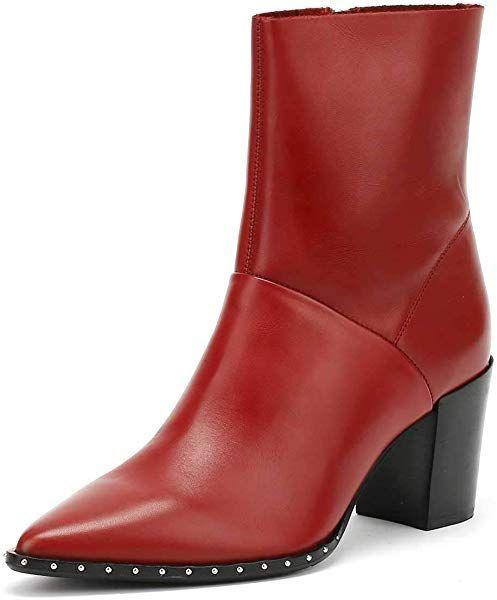 Sonderrabatt von attraktive Designs geschickte Herstellung Bronx Damen Americana Stiefeletten, Rot (Red 31), 39 EU ...