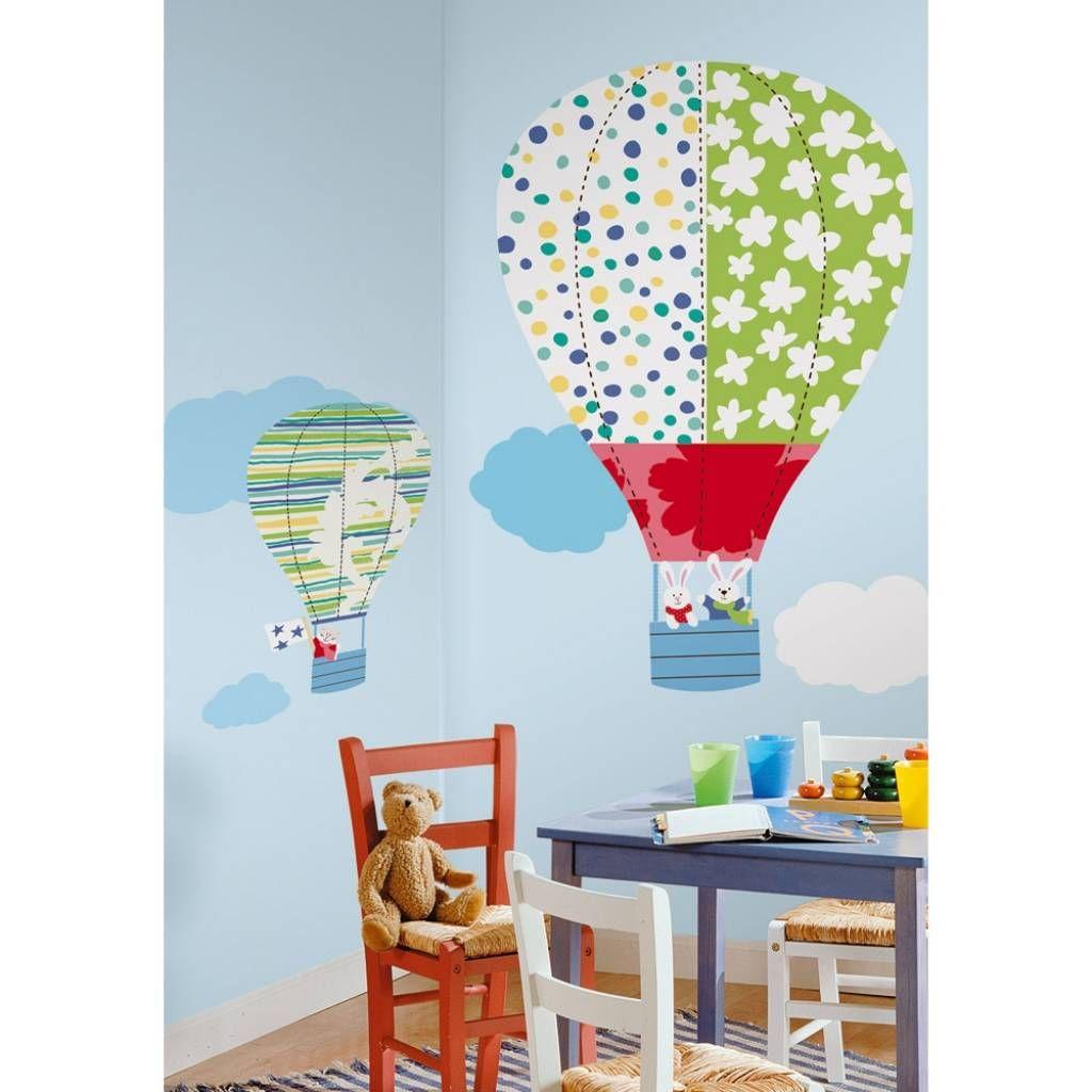 roommates #decorstickers luchtballonnen , super grote #kinderkamer, Deco ideeën