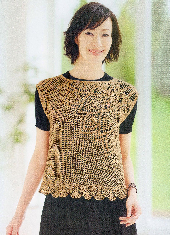 #3, Knit of a Beautiful Pineapple Pattern Crochet
