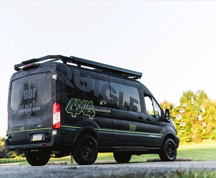 Vandoit Ford Transit Camper Van With Quigley 4x4 Ford Transit Ford Transit Camper Van Life