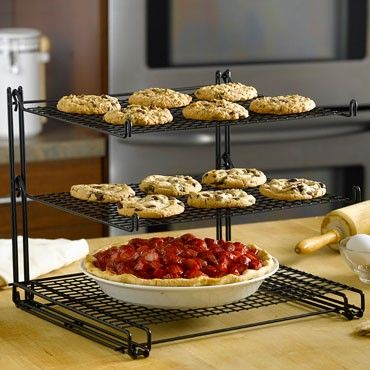 Triple Tiered Cooling Rack This Rack Saves Precious