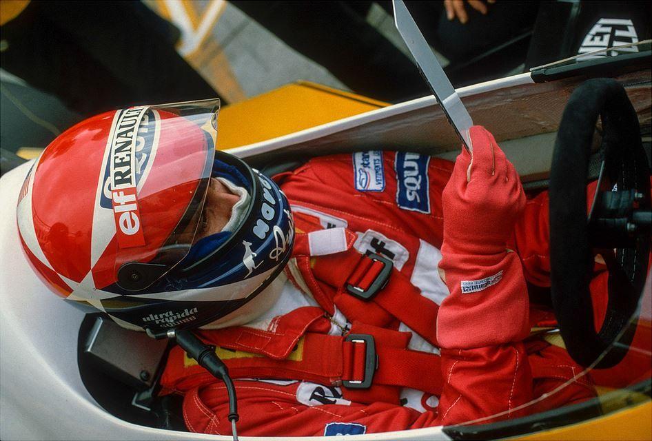Silverstone, inverno 90/91  Il nuovo collaudatore Williams
