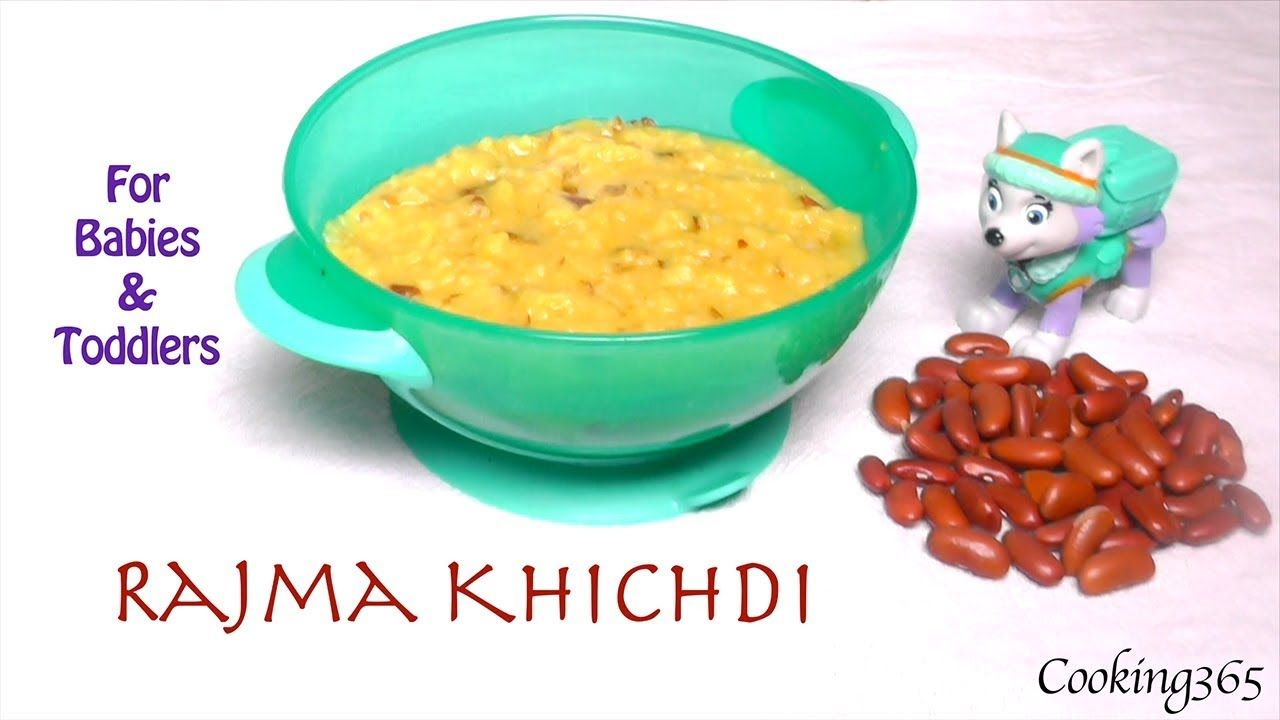 Rajma Khichdi For Babies 8 Months To Toddlers Red Kidney Beans Co Red Kidney Bean Kidney Beans Toddler