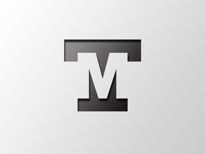 Tm Logo Design Typography Logo Design Creative Text Logo Design