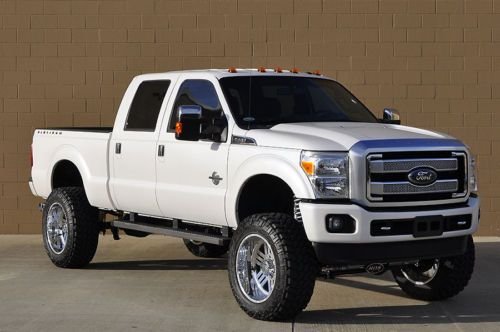 2016 Ford F 250 Platinum Sel Lifted 4