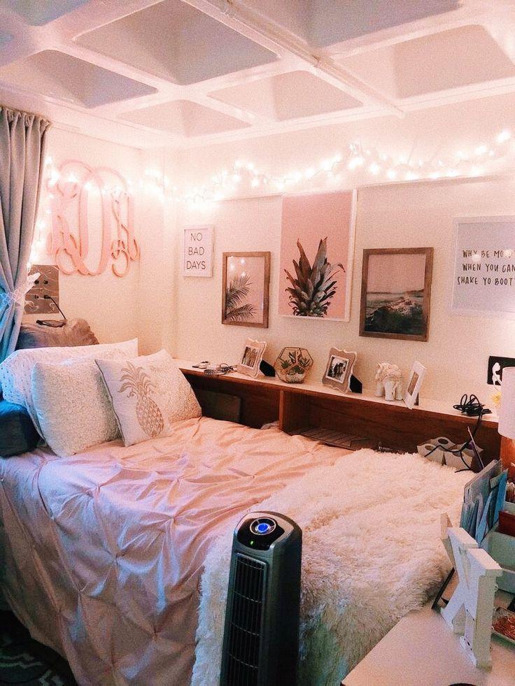 Dream Dorm Room: Pink Dorm Rooms, Dorm Room Designs, Chill Room
