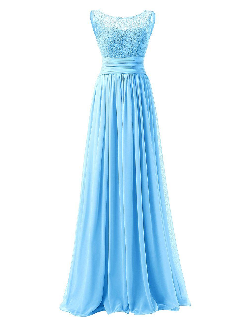 Lange kleider royalblau