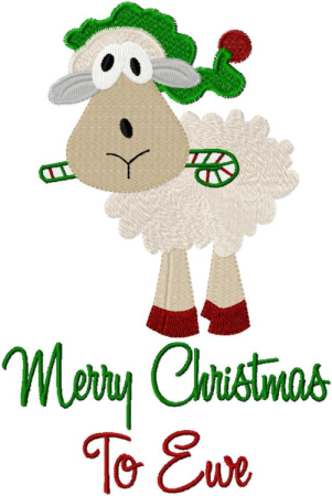 MERRY CHRISTMAS TO EWE BY: julias needle designs