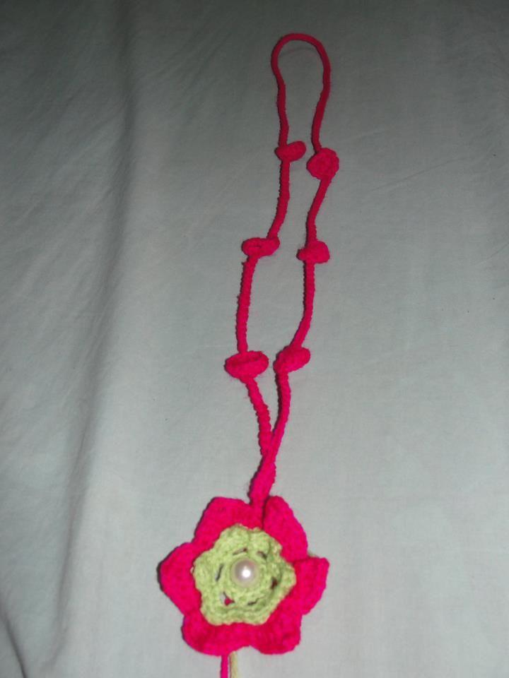 colgante crochet