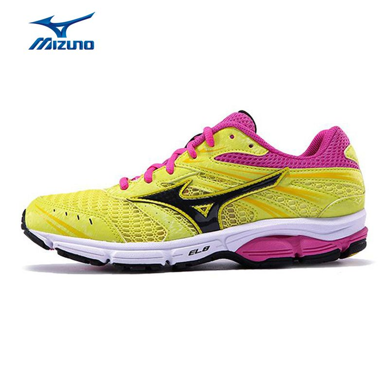 Mizuno Women Wave Zest Mesh Breathable Light Weight Cushioning