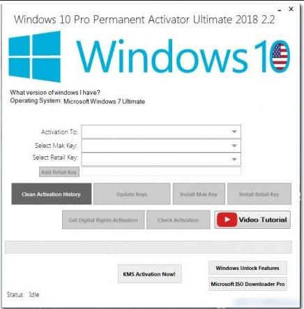 win 10 activation key 2018
