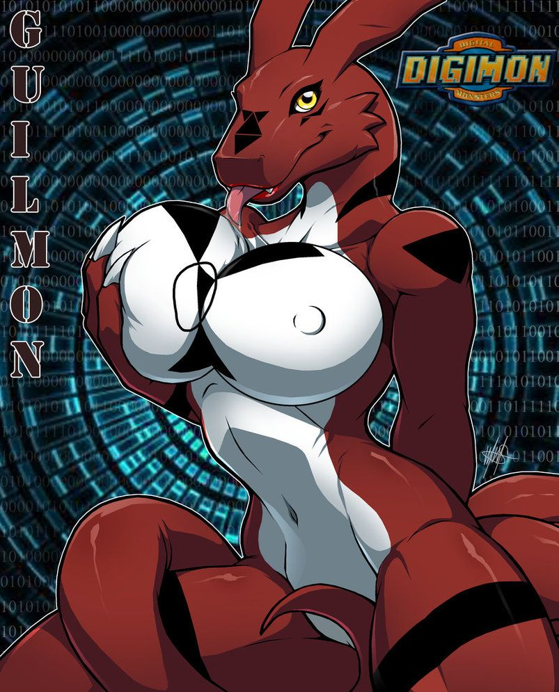 naked nude Guilmon female