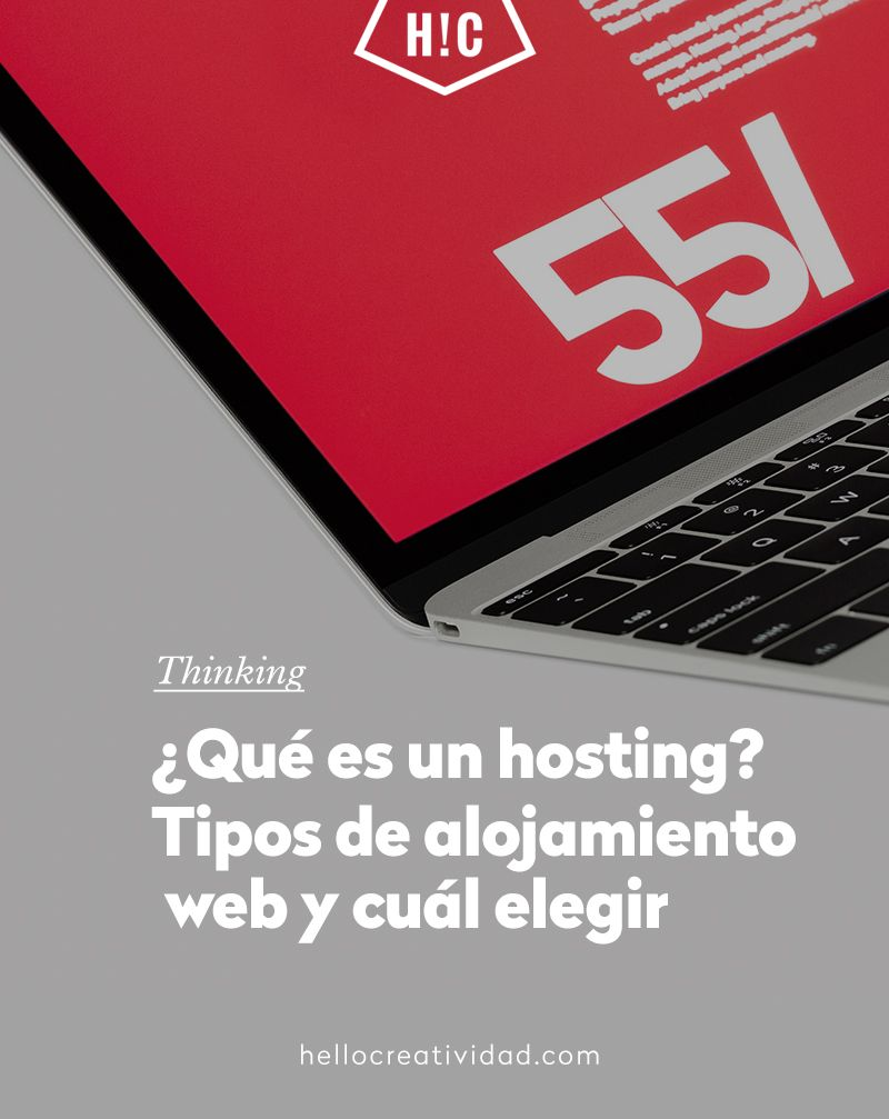 Qué Es Un Hosting Tipos De Alojamiento Web Y Cuál Elegir Hello Creatividad Alojamiento Web Blogging Cursillo
