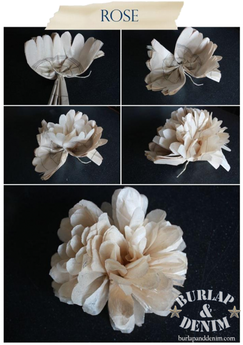 Tissue Paper Flowers Tutorial. DIY Lots of places to see these, but ...