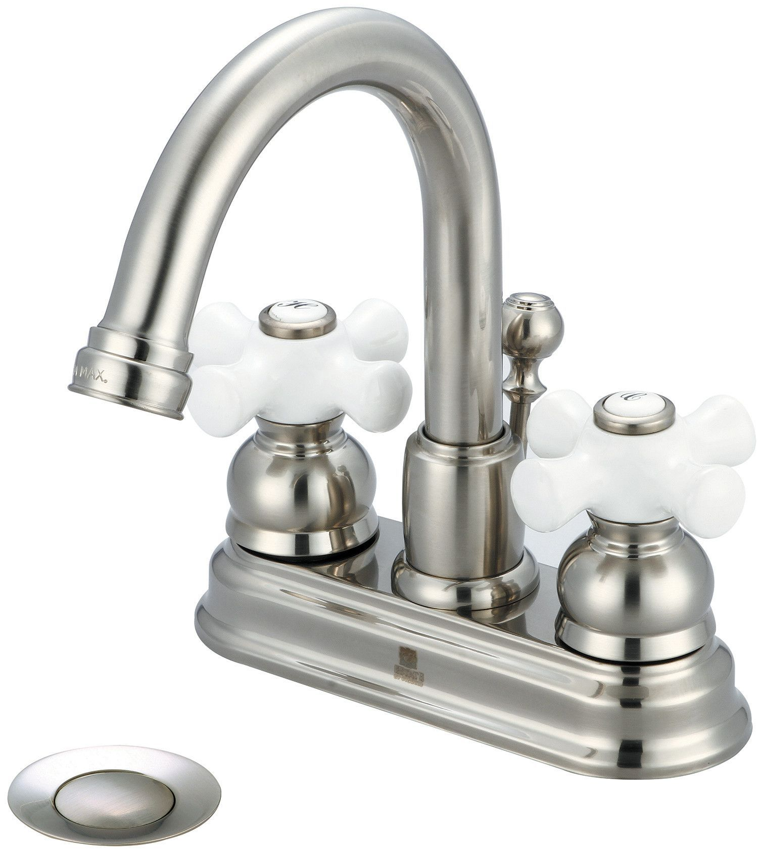 Brentwood Double Handle Centerset Bathroom Faucet