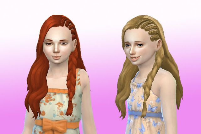 Sims 4 CC's - The Best: Hair for Girls by My Stuff