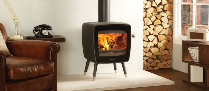 A Wood Stove That Would Fit Well Into Mid Century Modern 1960s Style Home