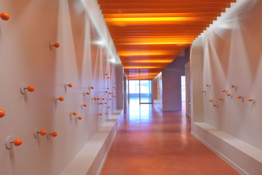 Cool School Corridor Design House Idea Home Interior