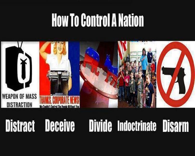Image result for Help destroy America. Disarm their people