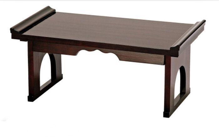 Pas cher Asiatique meubles japonais Antique Console Table pliante