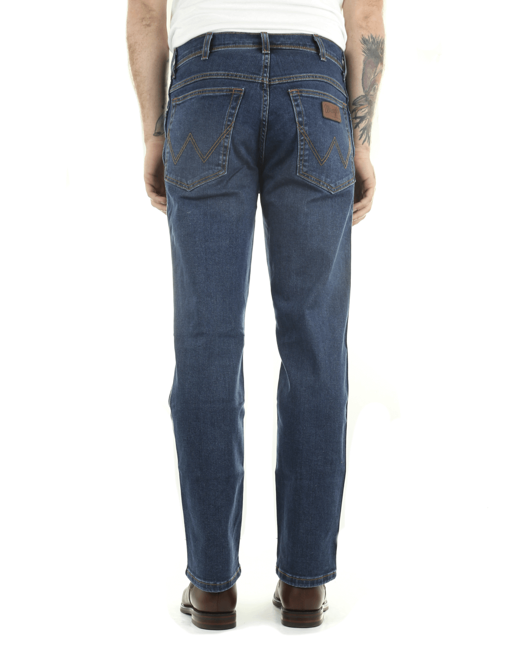 new arrivals dbd88 09019 Wrangler Texas Stretch Original Fit Mens Jeans - Darkstone ...