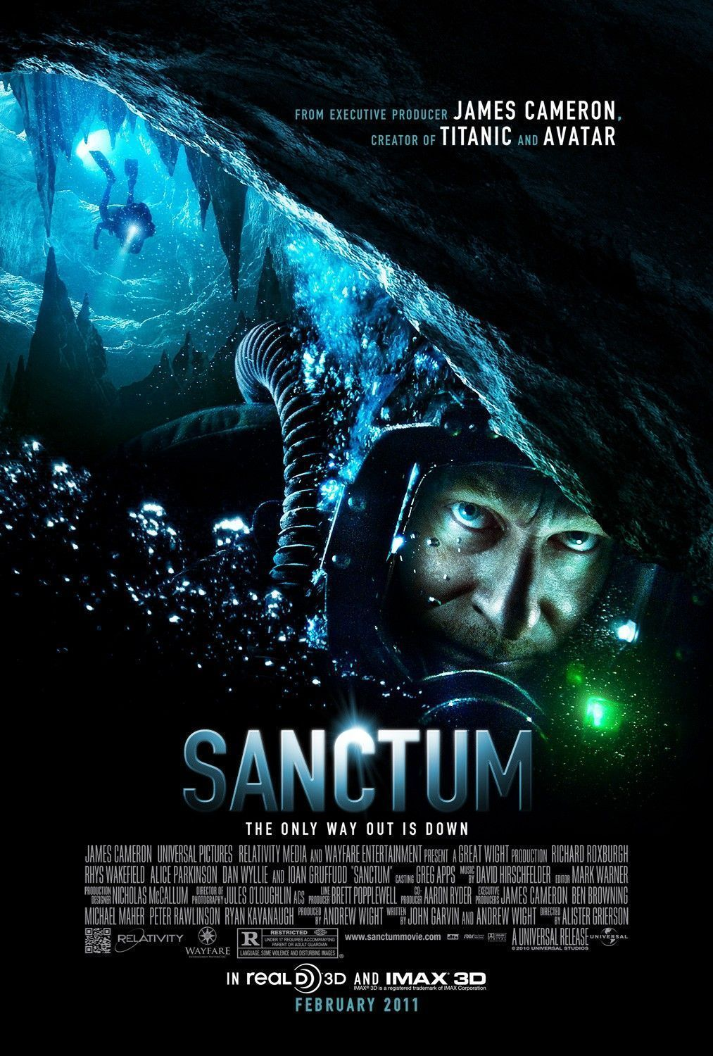Sanctum. Freaky, thriller, You will find your self holding