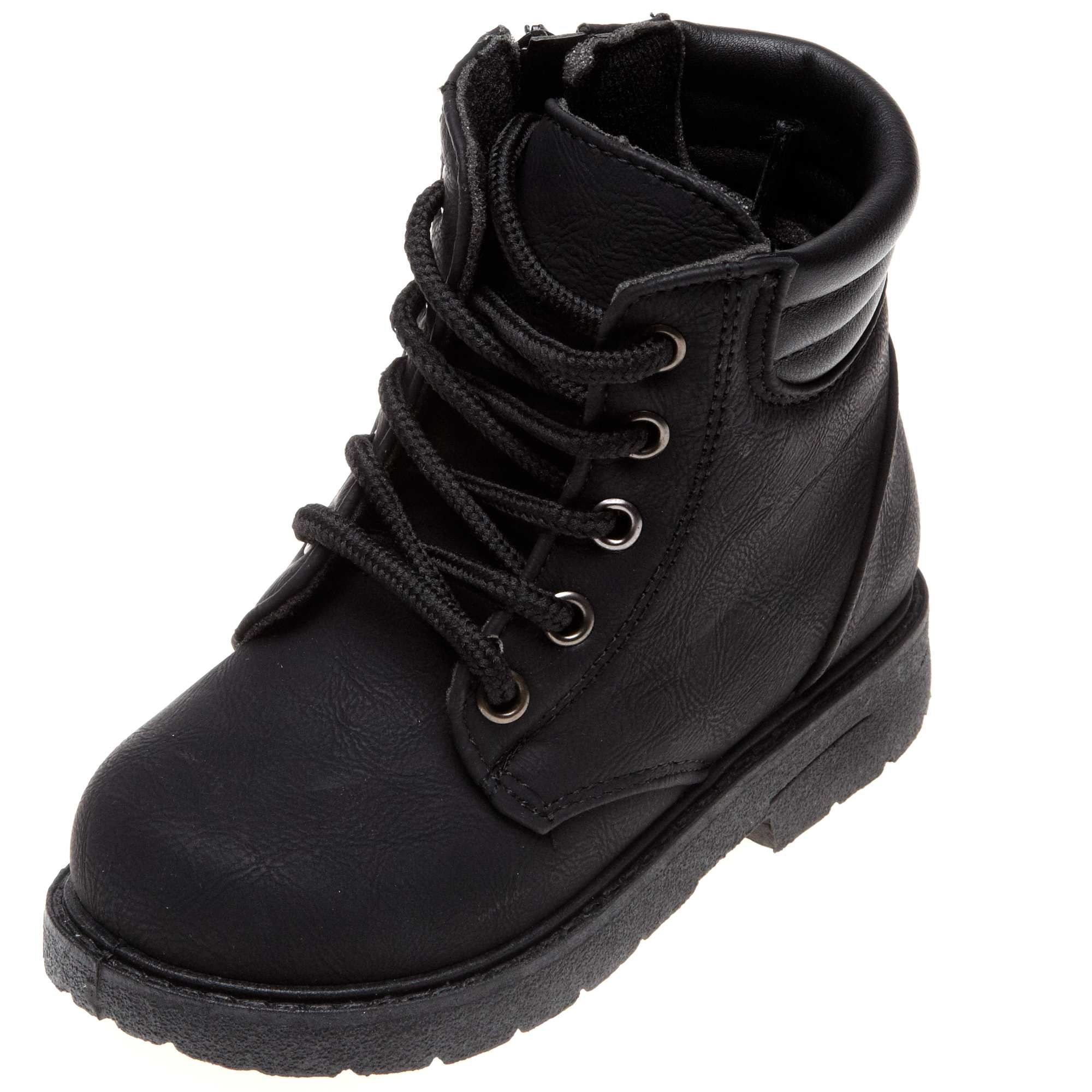 3c0421d3 Botines negros Infantil niño - Kiabi - | i like | Zapatos、Ropa ...