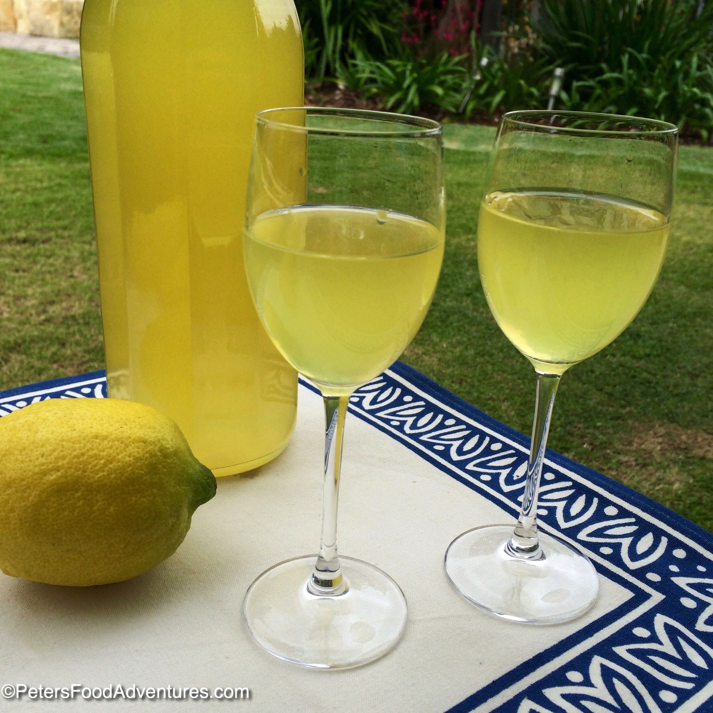 Homemade Limoncello, Making