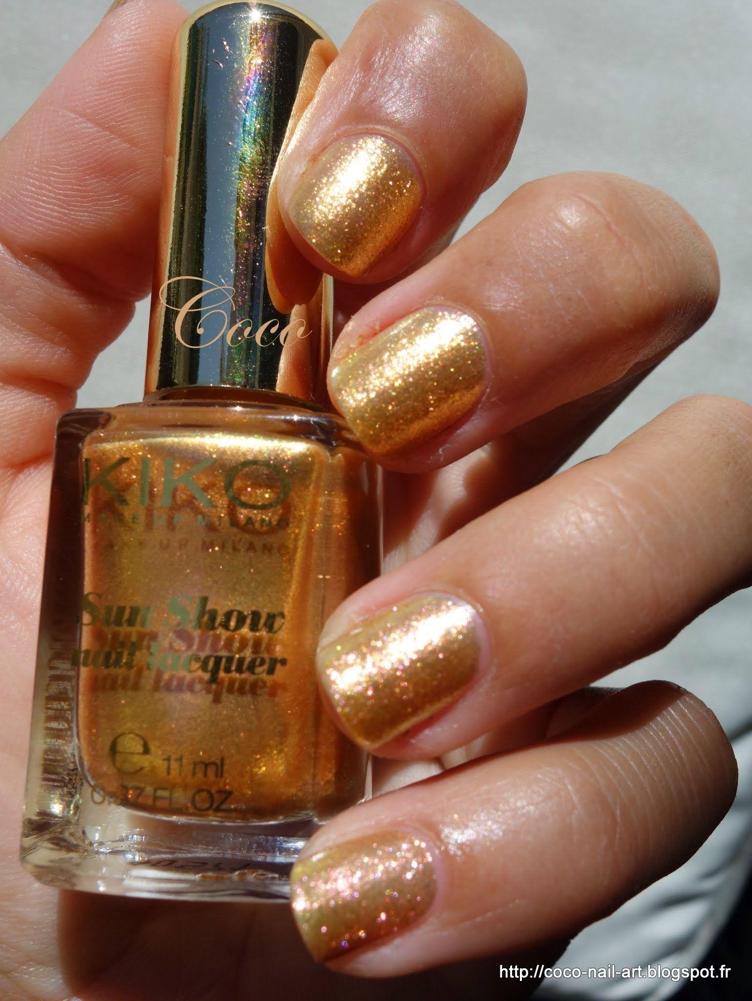 Kiko sun show n467 quindim gold httpcoco nail artspot kiko sun show n467 quindim gold httpcoco nail prinsesfo Gallery
