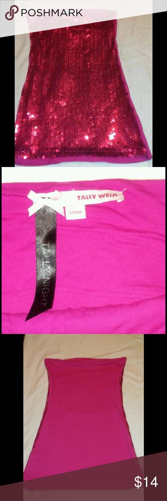 Tally Weijl halter top Tally Weijl new sequin halter top Tally Weijl Tops Tank Tops