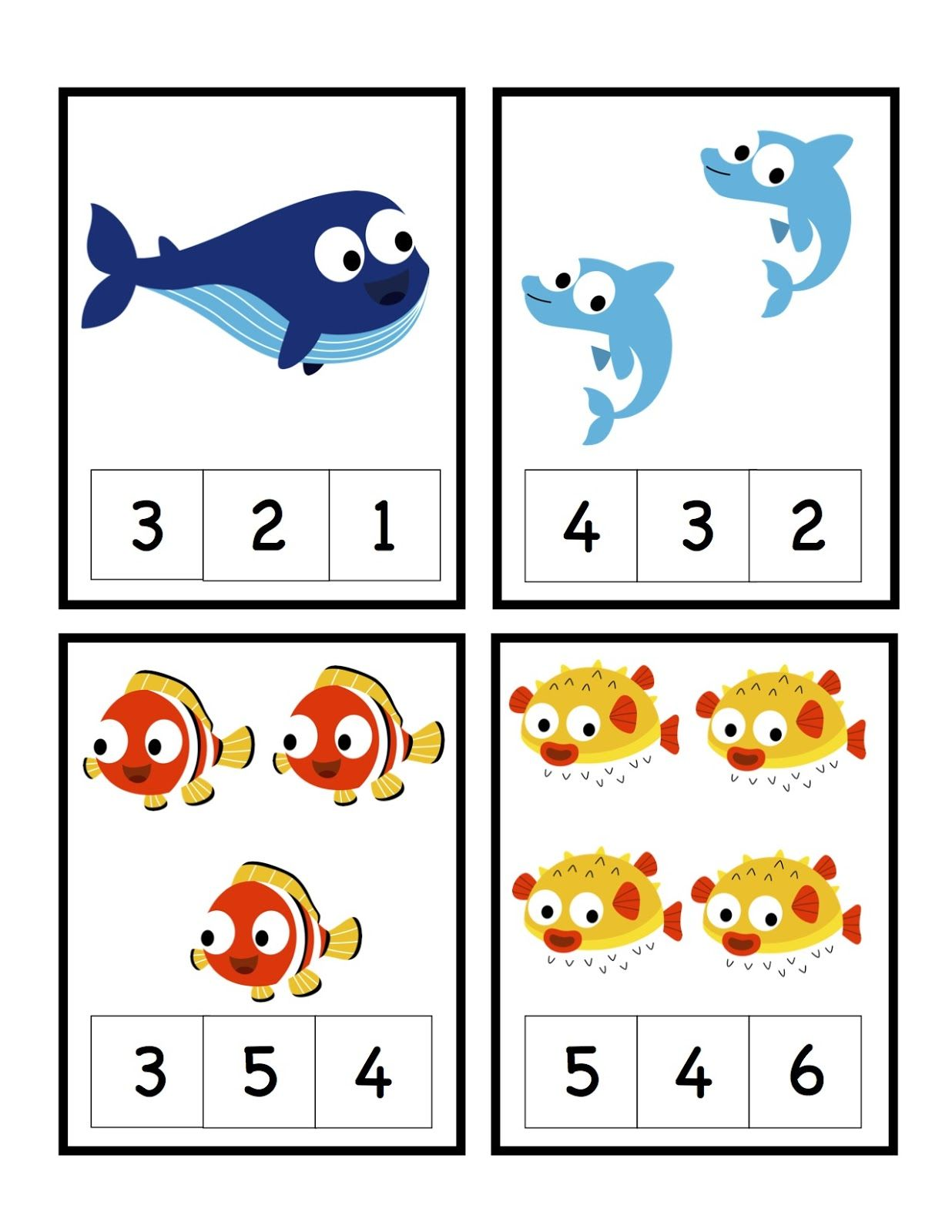 Preschool Printables Ocean With Images