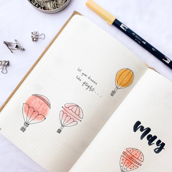 Have you seen photos on Instagram of beautiful bullet journals and wish you coul…
