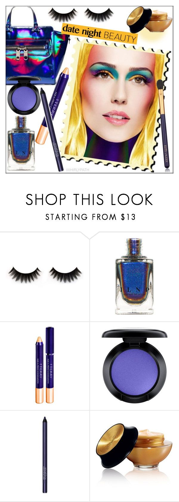 """Date Night Beauty"" by whirlypath ❤ liked on Polyvore featuring beauty, By Terry, MAC Cosmetics, Smashbox, Yves Saint Laurent and Estée Lauder"