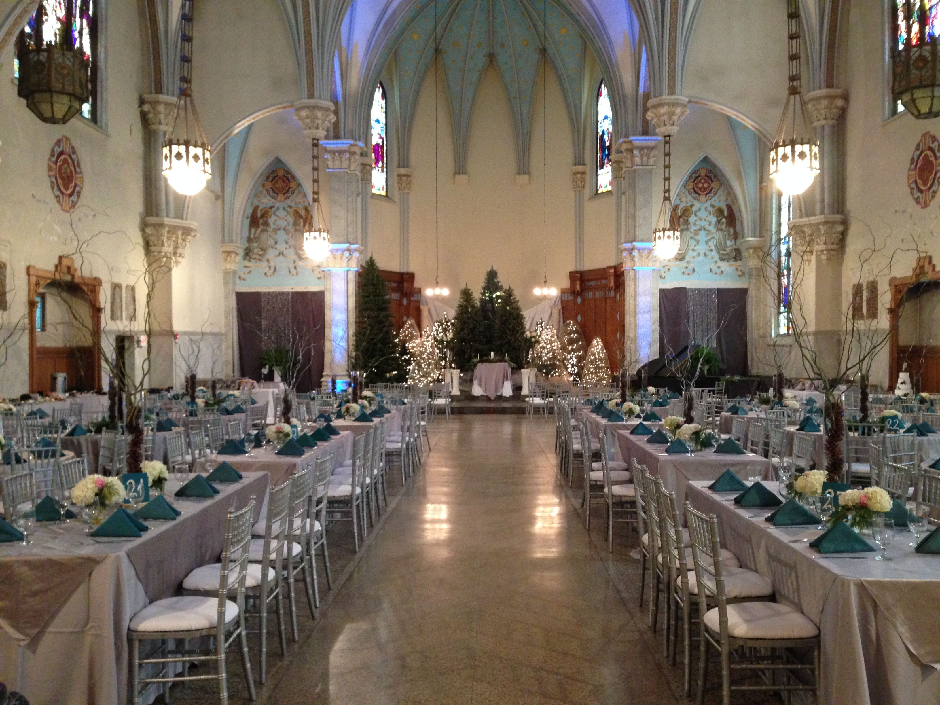 Winter Wedding The Grand Halle On Broad Street Cambria City Cultural District Johnstown Wedding Cultural District Celebrity Weddings