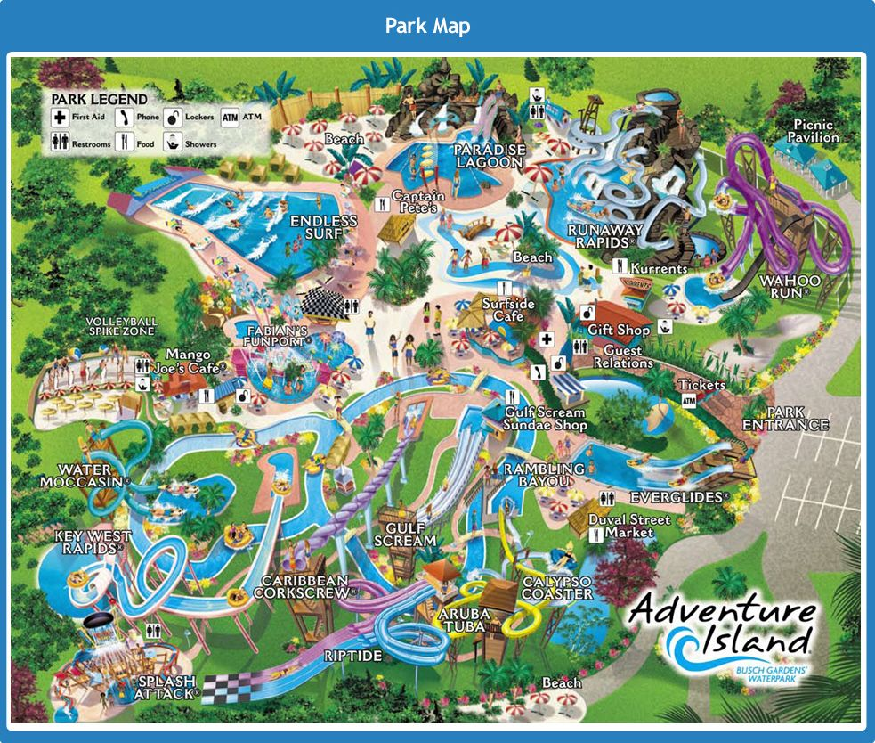 Adventure Island A Tropical Journey That S Fun For All