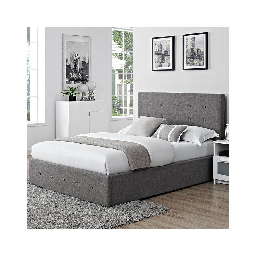 Pleasing Chanel Upholstered Ottoman Bed Guest Bedroom Bed Beatyapartments Chair Design Images Beatyapartmentscom