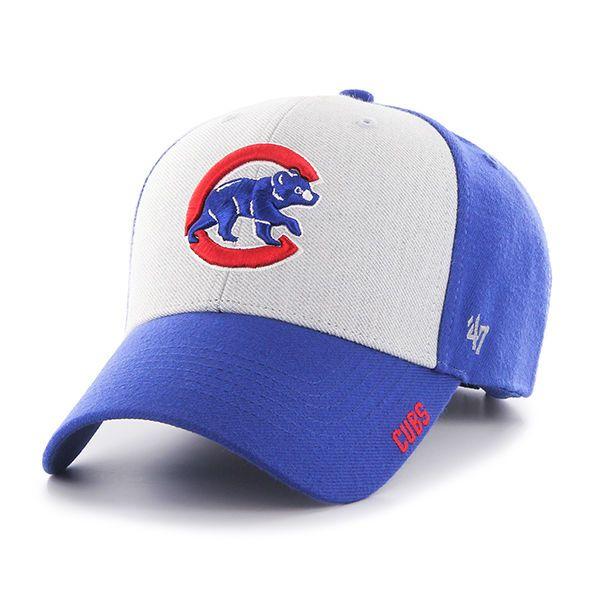 Chicago Cubs 47 Brand Beta MVP Adjustable Hat Baseball Cap