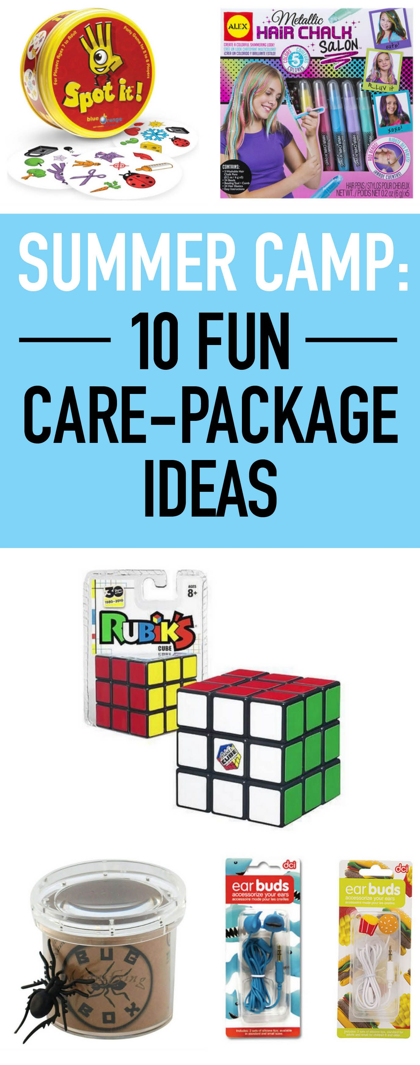 summer camp: 19 fun care package ideas | summer camp | pinterest