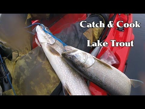 Catch & Cook Ep 1: LAKE TROUT - (More info on: https://1-W-W.COM/fishing/catch-cook-ep-1-lake-trout/)