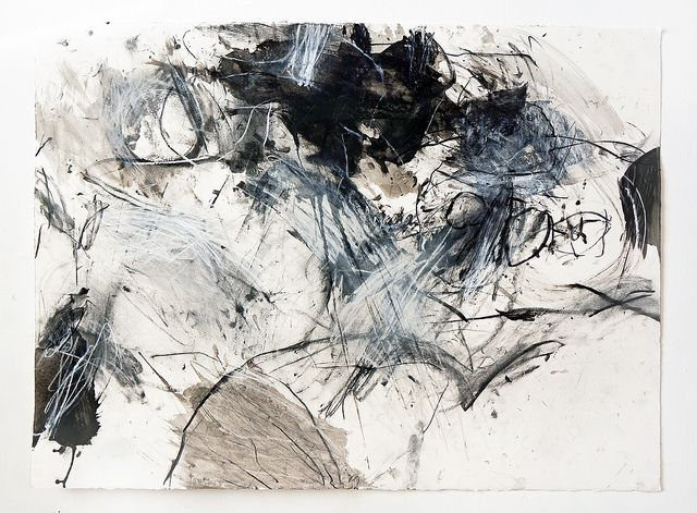 Mayako Nakamura. Acrylic charcoal and pastel on Arches 300g 560x760mm | Flickr - Photo Sharing!