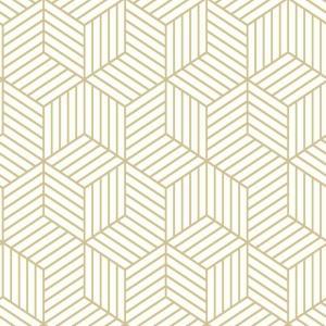 Roommates Stripped Hexagon Vinyl Peelable Wallpaper Covers 28 18 Sq Ft Rmk10704wp The Home Depot Peel And Stick Wallpaper Peelable Wallpaper Vinyl Wallpaper