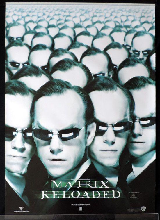 matrix reloaded australian movie poster