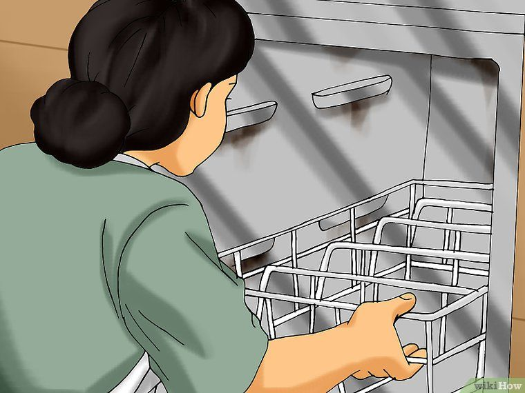 How To Clean A Moldy Dishwasher 10 Steps With Pictures Clean Dishwasher Dishwasher Cleaning