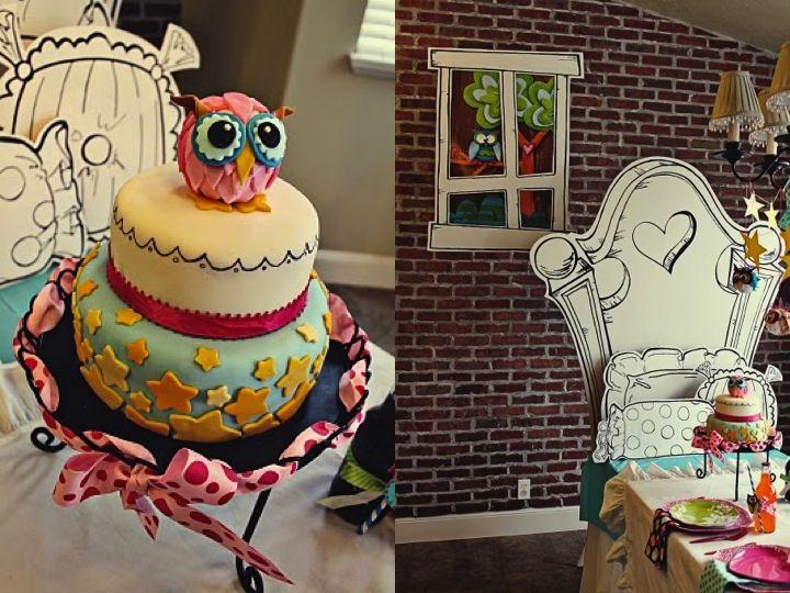 Owl pajama party I