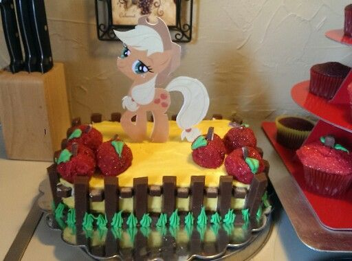 Applejack My Little Pony Cake Cakes My Little Pony Birthday