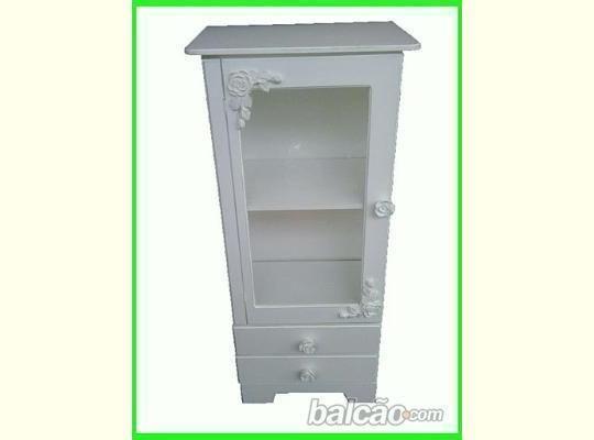R$270,00 - Armário 80cm - Fábrica de móveis estilo Provençal - https://picasaweb.google.com/FIROLIROBRINCANDODEDECORAR/PROVENCAL